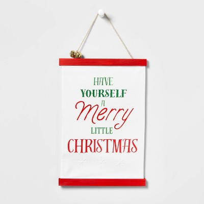 Have Yourself A Merry Little Christmas Hanging Sign - Wondershop™