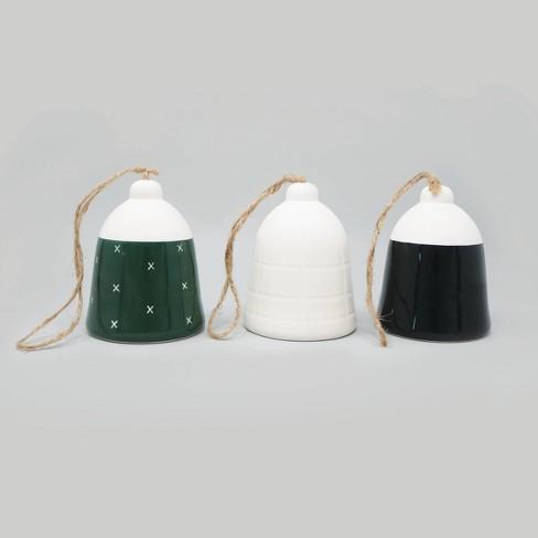 3pc Ceramic Bells - Bullseye's Playground™ - image 1 of 1