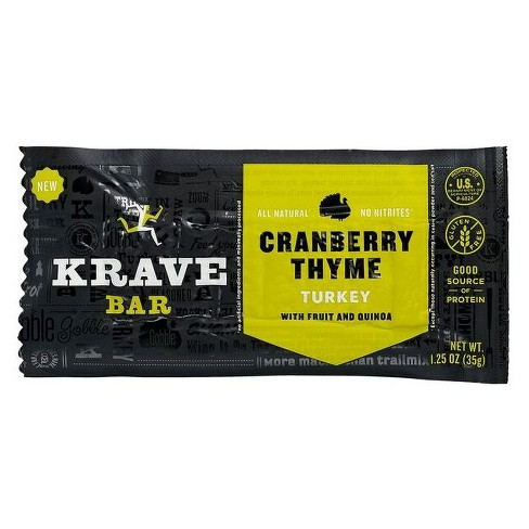 Krave® Cranberry Thyme Turkey Bar - 1.25oz - image 1 of 1