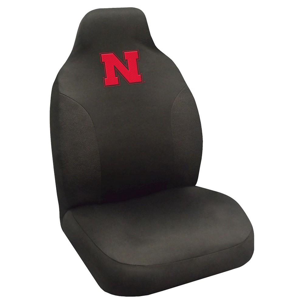 NCAA Nebraska Cornhuskers FanmatsSeat Cover - Black