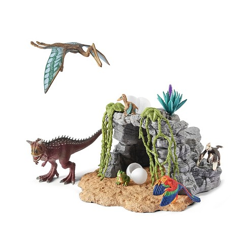 Schleich Dinosaur Set with Cave - image 1 of 1