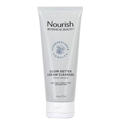 Nourish Organic Botanical Beauty Glow Getter Cream Cleanser - 6 fl oz