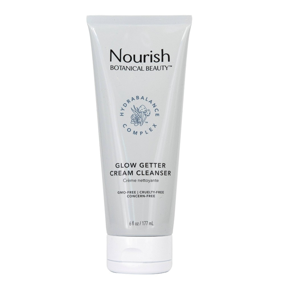 Image of Nourish Organic Botanical Beauty Glow Getter Cream Cleanser - 6 fl oz