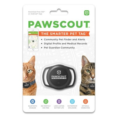 Pawscout Smarter Cat Tag - Black