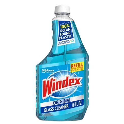 Windex Glass Cleaner Original Blue Refill - 26oz - image 1 of 4