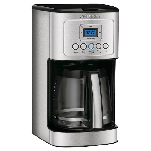 Cuisinart Perfectemp 14 Cup Programmable Coffee Maker Stainless Steel Dcc 3200 Target