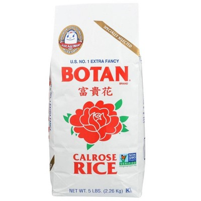 Botan Medium Grain Calrose Rice - 5lbs