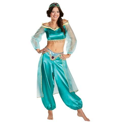 Adult Disney Princess Jasmine Prestige Fab Halloween Costume Target