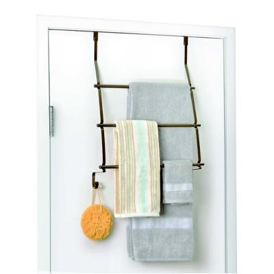 Over-The-Door Towel Rack Bronze Totally Bath