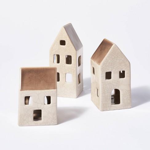 3pc Ceramic House Set - Threshold™ designed with Studio McGee - image 1 of 4