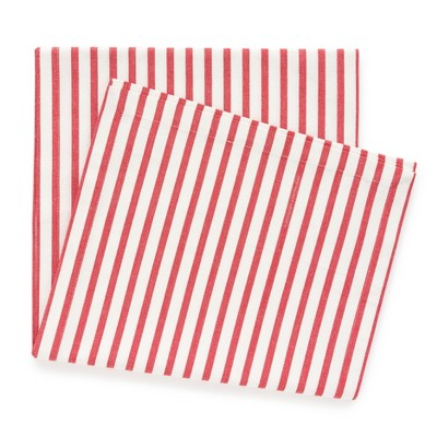 Red Stripe Table Runner, 14  x 108  - sugar paper™