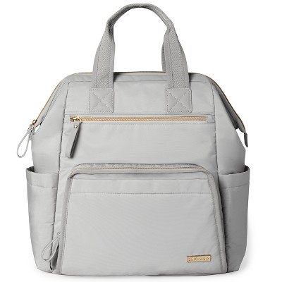 Skip Hop Mainframe Wide Open Diaper Backpack - Gray