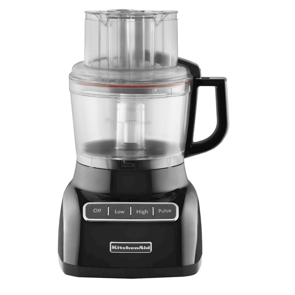 KitchenAid 9 Cup Food Processor – KFP0922, Onyx Black 13761950