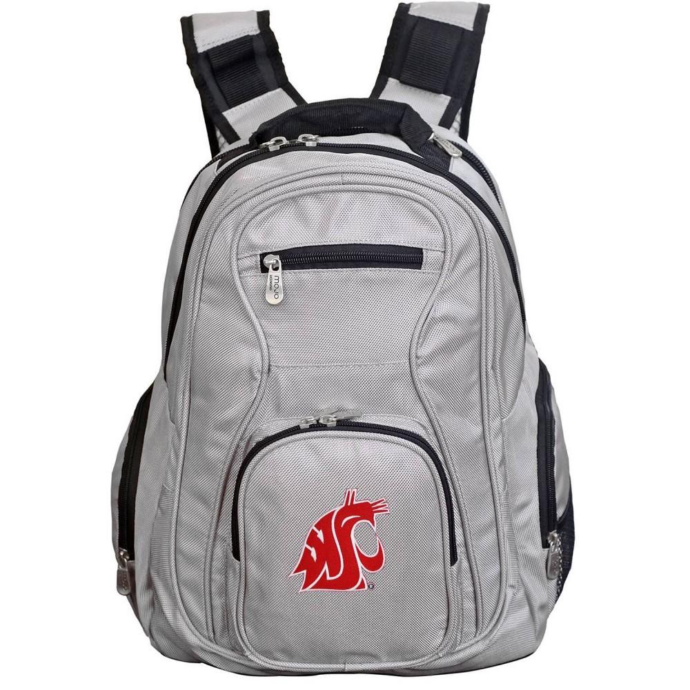 NCAA Washington State Cougars Gray Premium Laptop Bag