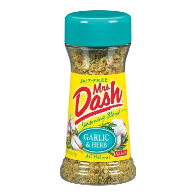 Mrs. Dash® Seasoning Blend, Garlic & Herb - 2.5oz