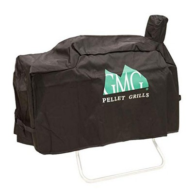 Green Mountain Grills Davy Crockett Durable Weather Resistant Grill Cover, Black