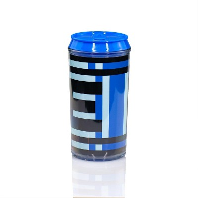 Just Funky Mega Man Official Energy Tank Travel Can | E-Tank Can Holds Your Favorite Drink