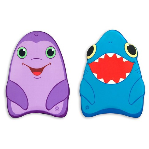Melissa & Doug® Sunny Patch Dolphin and Shark Kickboards - Learn-to-Swim Pool Toys (Set of 2) - image 1 of 2