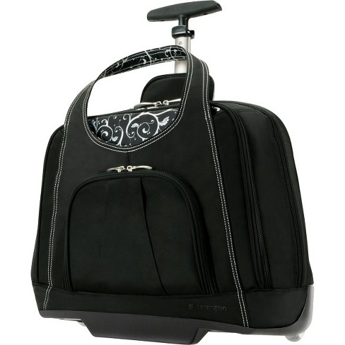 "Kensington Contour Carrying Case (Roller) for 15.4"" Notebook - Onyx - image 1 of 1"