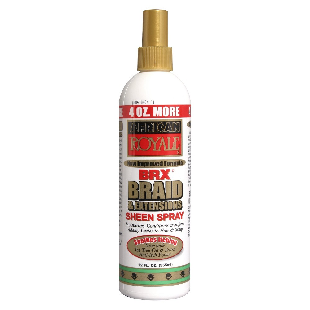 Image of Afta African Royale Braid and Extensions Sheen Spray - 12 fl oz