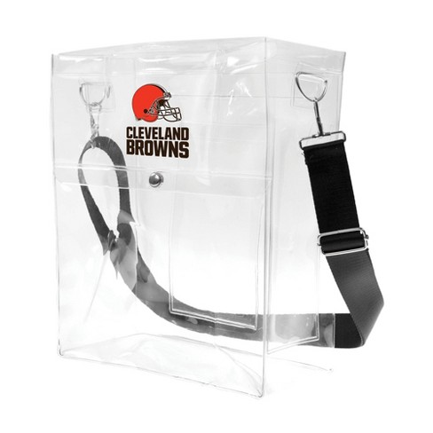NFL Cleveland Browns Clear Ticket Satchel - image 1 of 2