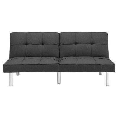 Futon Grey Linen Room Essentials Target