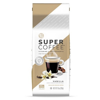 KITU Super Coffee Vanilla Medium Roast Ground Coffee - 10oz
