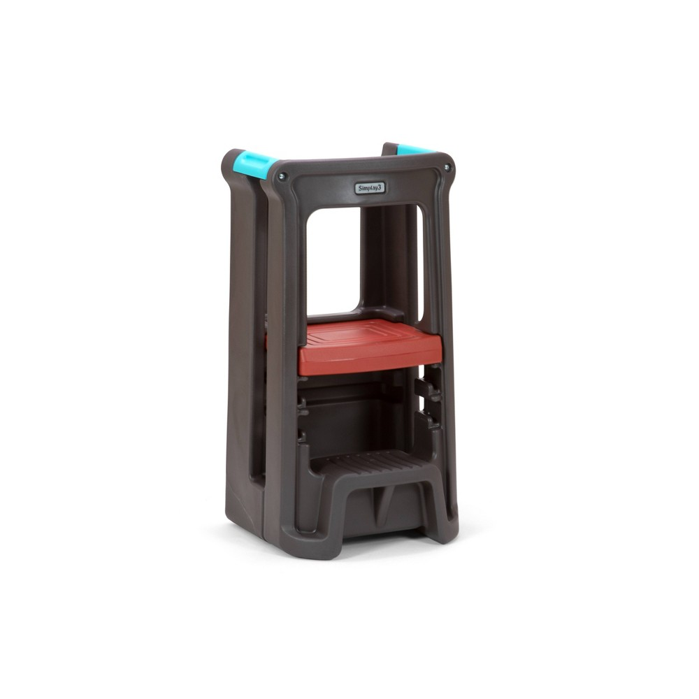 Image of Toddler Tower Espresso Brown - Simplay3, Brown Brown