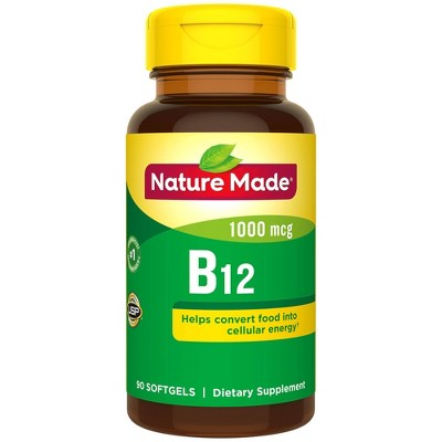 Vitamins & Supplements: Nature Made B12