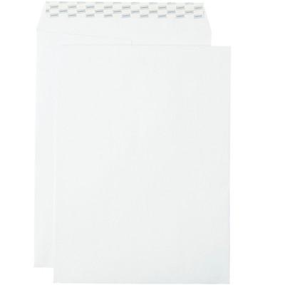 "MyOfficeInnovations EasyClose Catalog Envelopes 9""L x 12""H White 100/Box (379479/19026)"
