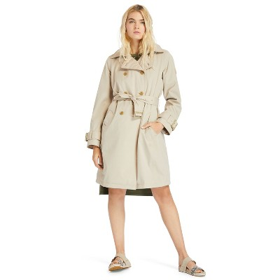 Timberland Women's Waterproof Trench Coat