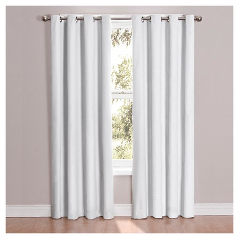 Cassidy Blackout Curtain White Eclipse™ - image 1 of 3