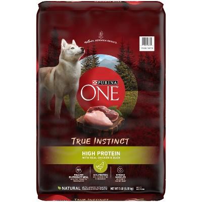 Purina ONE SmartBlend True Instinct High Protein Chicken & Duck Adult Dry Dog Food