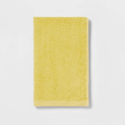 Everyday Solid Hand Towel Yellow - Room Essentials™