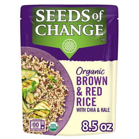 Seeds of Change Organic Brown & Red Rice with Chia & Kale - 8.5oz - image 1 of 4