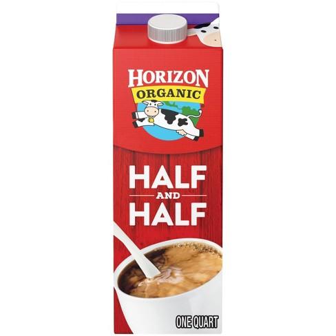 Horizon Organic Half & Half - 1qt - image 1 of 3