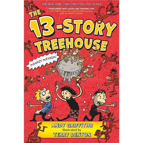 The 13-Story Treehouse - (Treehouse Books) by  Andy Griffiths (Paperback) - image 1 of 1