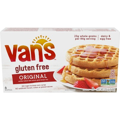 van's wheat and gluten free waffles
