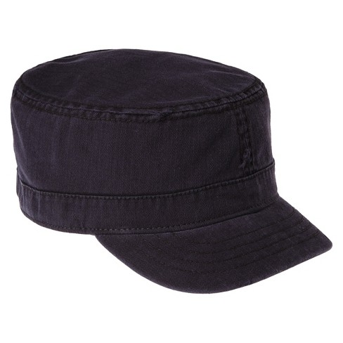 396846ee2ca Men s Herringbone Cadet Hat Black   Target