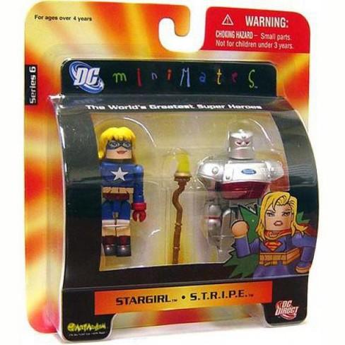 DC Minimates Series 6 Stargirl and S.T.R.I.P.E. Minifigure 2-Pack - image 1 of 1