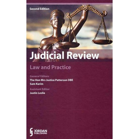 Judicial Review - 2 Edition (Hardcover) - image 1 of 1