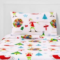 Dr. Seuss The Grinch Flannel Sheet Set