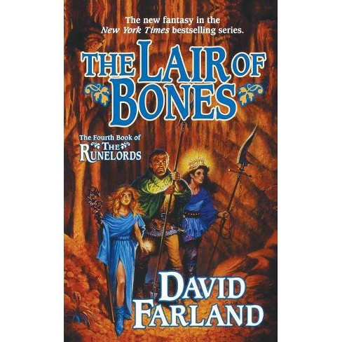 The Lair of Bones - (Runelords, 4) by  David Farland (Paperback) - image 1 of 1