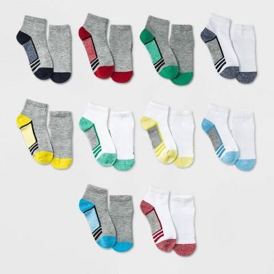 Boys' 10pk Lightweight Ankle Socks - Cat & Jack™