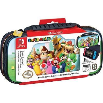 Nintendo Switch Game Traveler Deluxe Travel Case - Super Mario