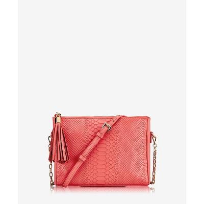 GiGi New York Orange Hailey Crossbody Bag