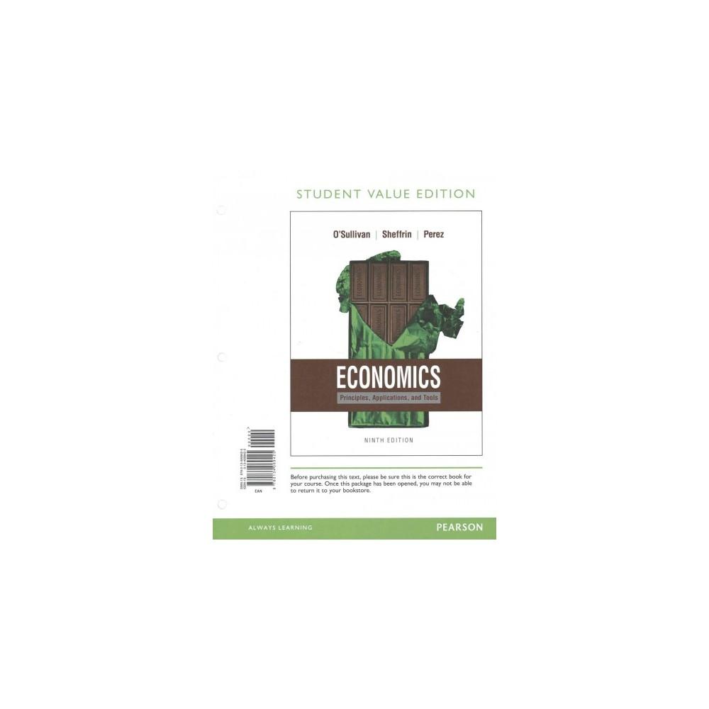 Economics : Principles, Applications, and Tools (Paperback) (Arthur O'Sullivan)