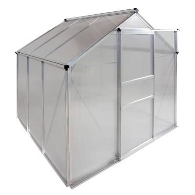 6'X 6' Walk-In Aluminum Greenhouse Clear - OGrow