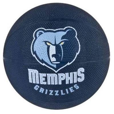 NBA Spalding Memphis Grizzlies Mini Ball Size 3 Rubber Basketball