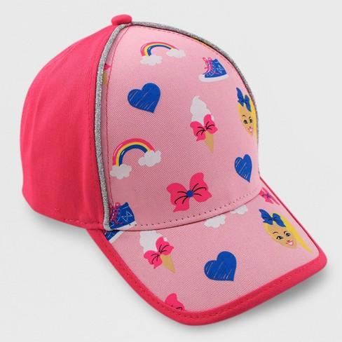 Girls  JoJo Siwa Baseball Hat - Pink   Target 7b887f946866